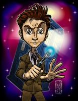 Dr. Who - the 10th Doctor by lordmesa