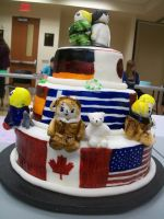 Hetalia cake Side 1 by lunarex15