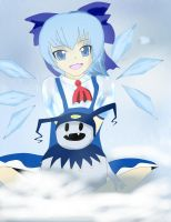 Cirno and Jack Frost by Edward-Lion