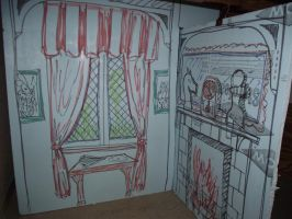 Inside the White Rabbit's house by Thastygliax