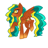 Seashell Pegasus adopt :OPEN: by X-SuGaR-Sweetfox-X