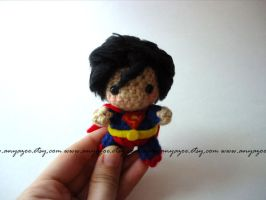 Superman Amigurumi by AnyaZoe