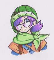 Lucca - Chrono Trigger (Markers) by balitix