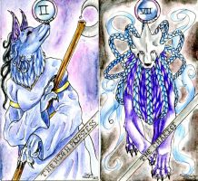 Tarot Cards 12-13:78 by MagicallyCapricious