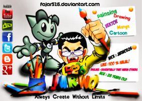 Always Create Without Limits by Fajar526