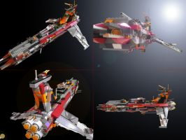LEGO RTF Starship by Joachim-Berger