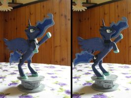 Princess Luna sculpture by RetardedDogProductns