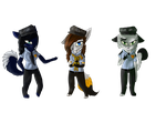 We are, beautiful ! [FNAF HISTORY OC] by AnimHorseAndWolf