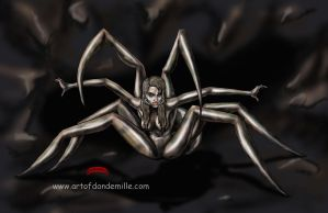 Along came a spider by Dan-DeMille