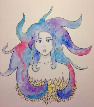Starry Hair by Winter--Dove