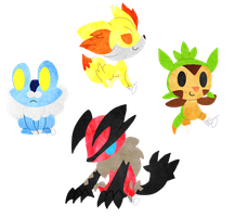 Gen6 Gang by CharmingNightmare