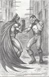 Batman Versus Punisher 2013 by myconius