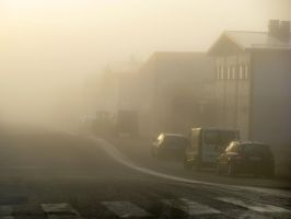 A Very Foggy Morning by TomiTapio