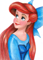 The Little Mermaid - Ariel by Nessie162