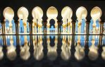 Sheikh Zayed Grand Mosque by night by ahmedwkhan