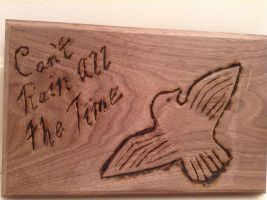 Crow plaque by Leanneisme