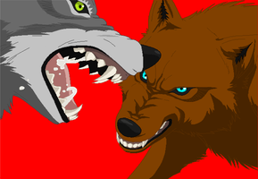 darkfang and brother whiteclif by fairytalekitty