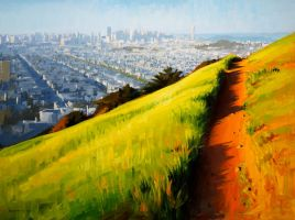 from bernal before sunset by turningshadow