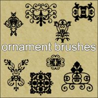 Ornament Brushes by little-stock