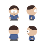 Skinny Eric Cartman Reference Sheet by ZeCarConnosieur