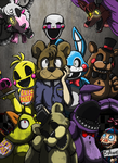Five nights at Freddys by RaiinbowRaven