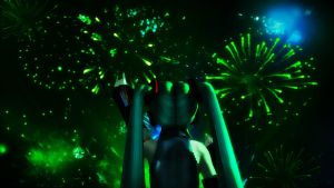 [MMD] Fireworks! by Snorlaxin