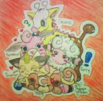 Poke Pile colored by DigitalStarz