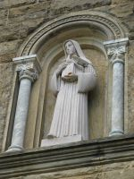 00114 - Holy Woman with Dove and Columns by emstock