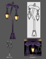 Undead Lamp Post by S0id3