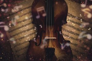 Violin art 2 by shtopor7
