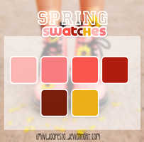 Spring Swatches by iMiVidaApesta