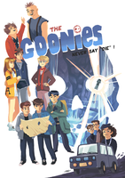 The Goonies never say 'die' ! by Pikila