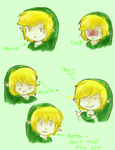 Toon Link Doddles by MariaCool1234