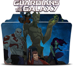 Guardians of the Galaxy Icon Foler by Mohandor