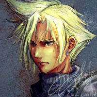 FFVII : Cloud Strife by noei1984