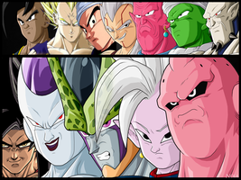 Some Characters of DBZ || Nola - TheGraphicsArts by TheGraphicsArts