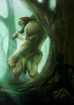 Forest Giant by ShenLim