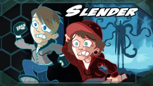 Slender Run for your Life by RushLightInvader