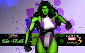She Hulk Purple by Corn102903