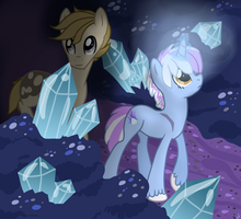 Cave of Jelly Crystals by sugarfate