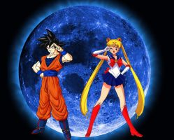 My Two Anime legends by ltdtaylor1970