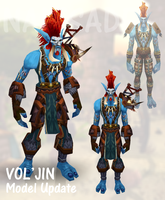 Old Vol'Jin Model Update by Naitsade