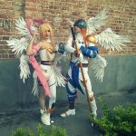 Angemon y Angewomon by WilliamAS