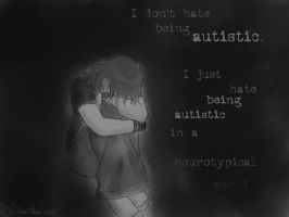 I don't hate being autistic by kidliquorice