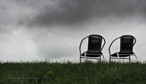 Landscape with Chairs by Brandzai