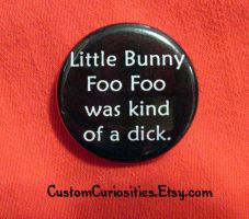 Little bunny foo foo's a dick by ElectrikPinkPirate