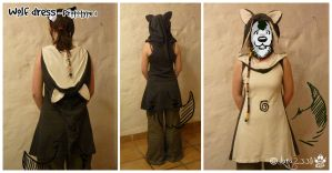 Wolf dress prototype by Luna2330