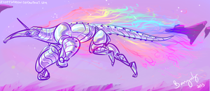 robot anteater attack by 5019