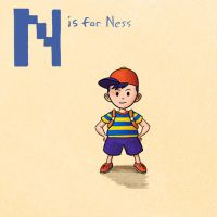 N is for Ness by KeithAErickson