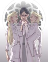 Holland and The Dane Twins by ECALA
